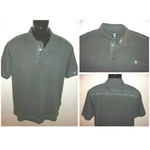 Men's Kuhl 100% Organic Cotton Short Sleeve Polo
